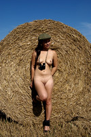 Sasha nude at harvest time