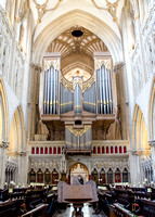 Quire, Wells Cathedral